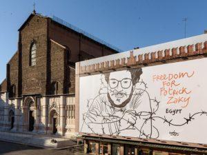 Patrick Zaki_Piazza Maggiore